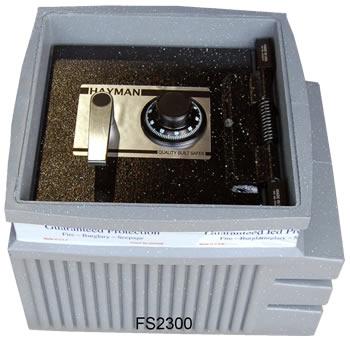 Hayman FS2300 Full Size Polyethylene Floor Safe - The Safe