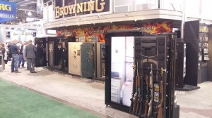 Browning Gun Safes at SHOT Show 2015