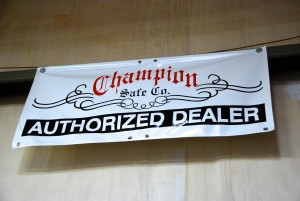 The Safe House has been an authorized dealer for Champion Safe Company since its beginning.
