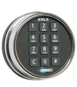 Amsec ESL5 illuminated Electronic Lock