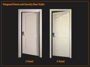Vanguard 2 Panel & 6 Panel Door