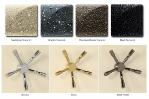 Amsec Vault Door Paint and Handle Finishes